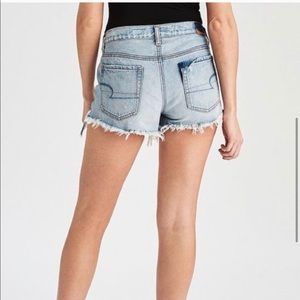 American Eagle High-Rise Distressed Shorts size 2